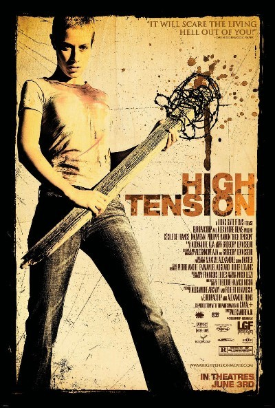 high tension DVD cover