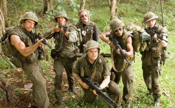 tropic thunder team