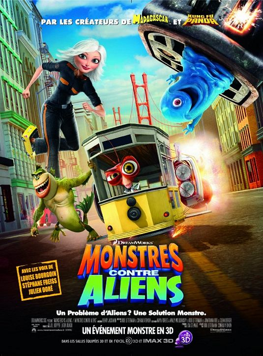 Monsters vs aliens is fun family fare that is sure to leave everyone