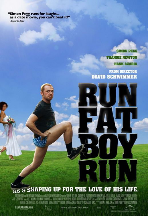 fat guy running. Run, Fat Boy